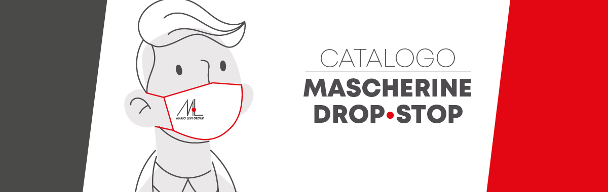 """Mascherine """"DROP-STOP"""" firmate Mario Levi"""